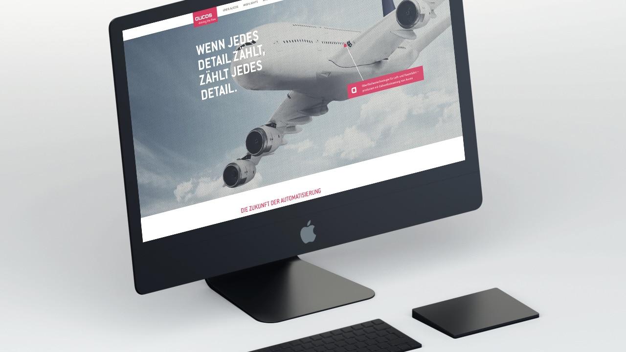 Aucos Website - werbeagentur aus Aachen