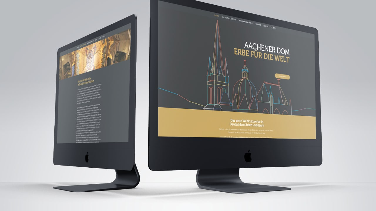 Aachener Dom - Erbe für die Welt - Werbeagentur aus Aachen
