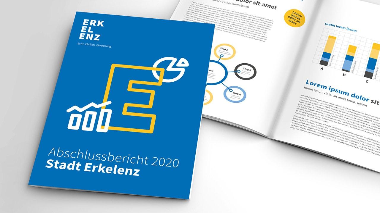 """Die neue Marke der """"Stadt mit drei E""""."""