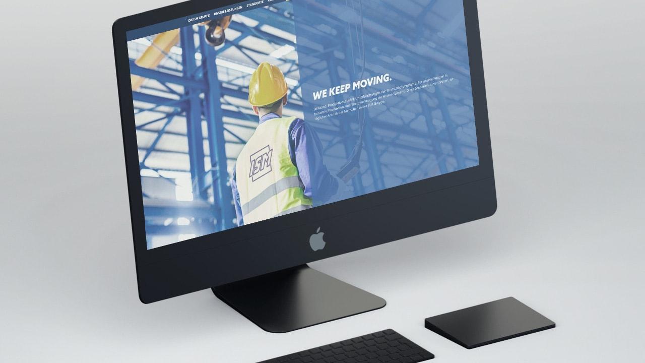 ISM Website Werbeagentur aus Aachen