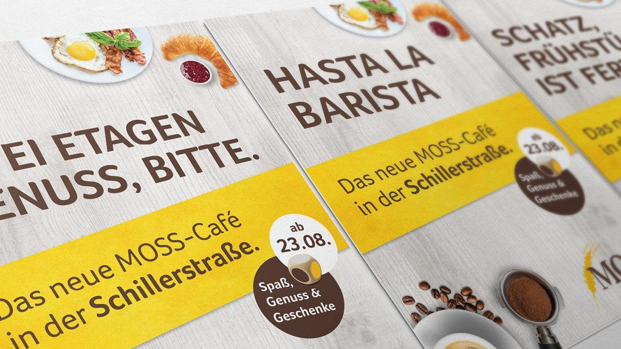 Moss Flyer von der Werbeagentur aus Aachen