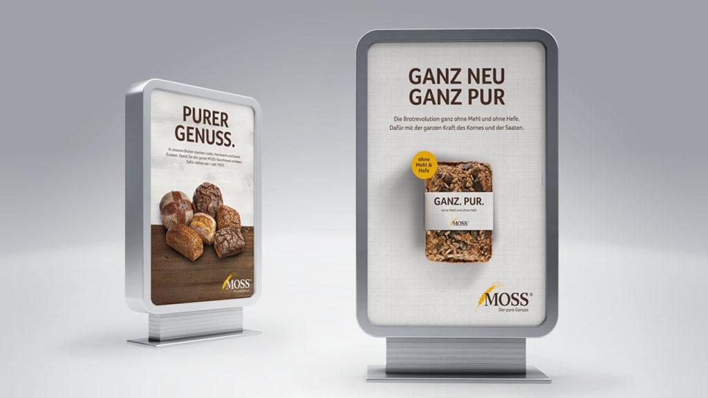 """""""Der pure Genuss"""" – Neues Design für die Bäckerei Moss"""