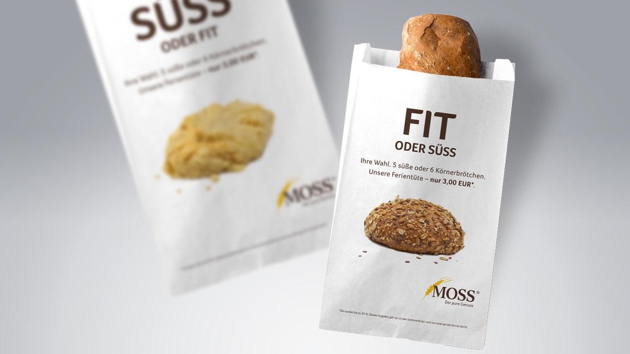Moss Tüten von der Werbeagentur aus Aachen
