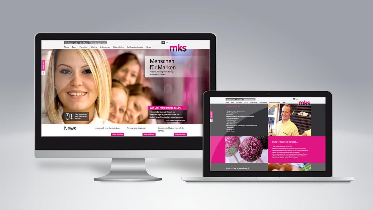 Menschen für Marken. mks positioniert sich neu