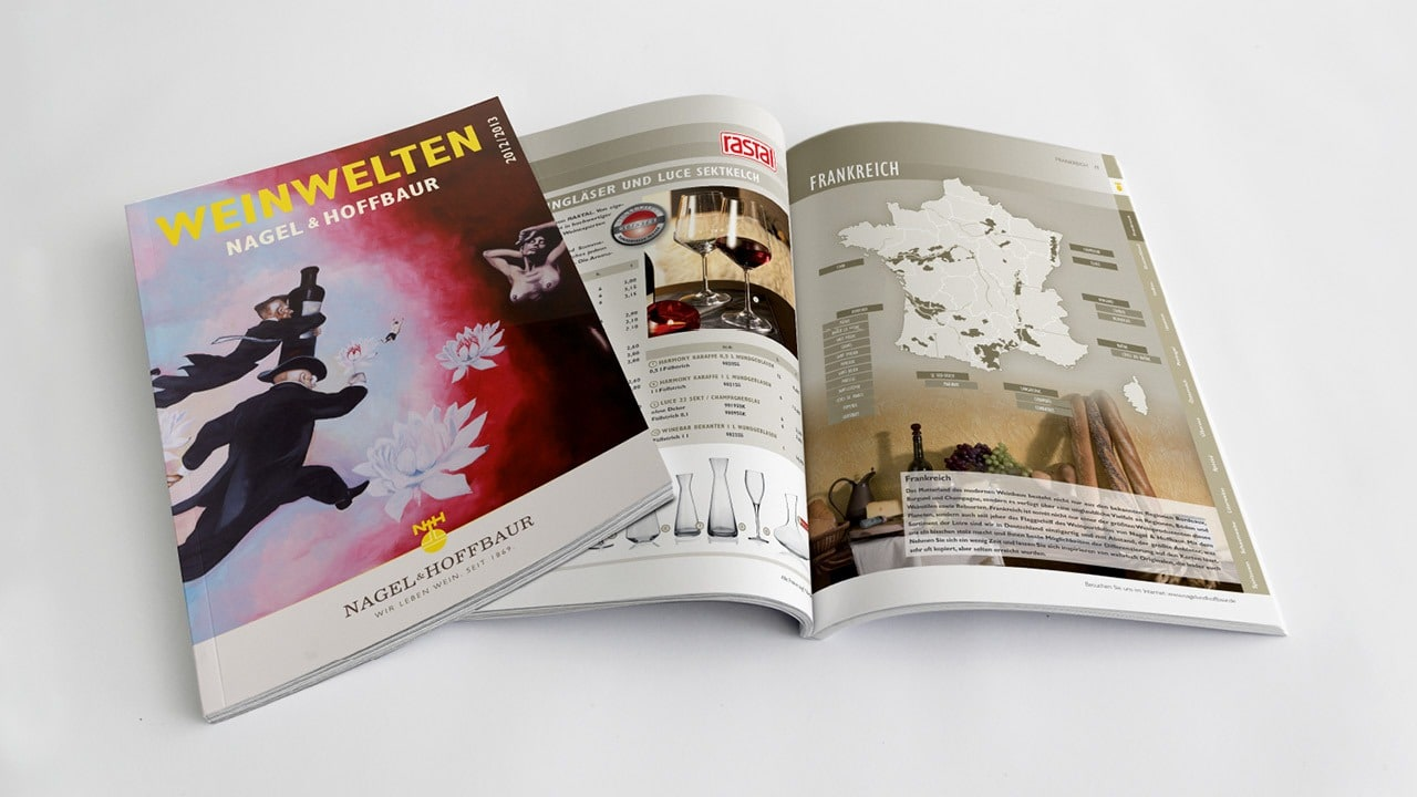 Katalogdesign und Realisation für eines der schönsten Produkte der Welt