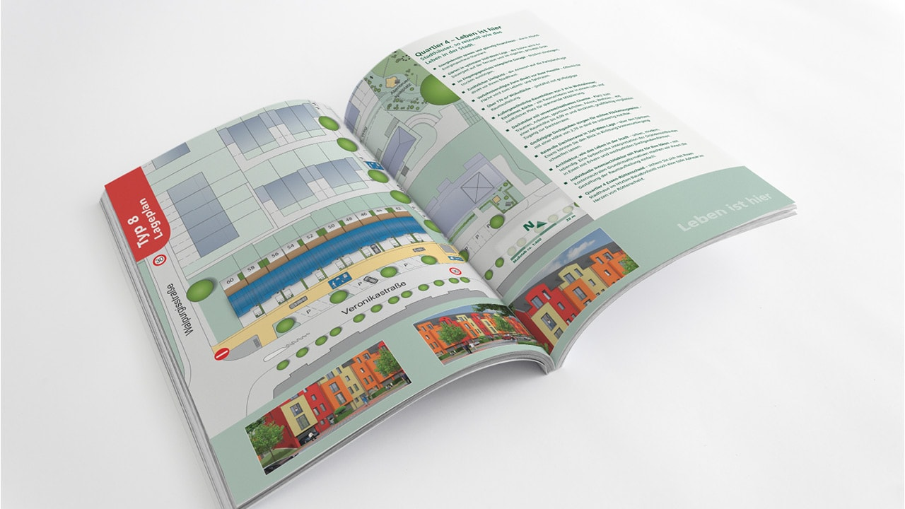 Mut wird belohnt: Immobilienmarketing für das Quartier 4