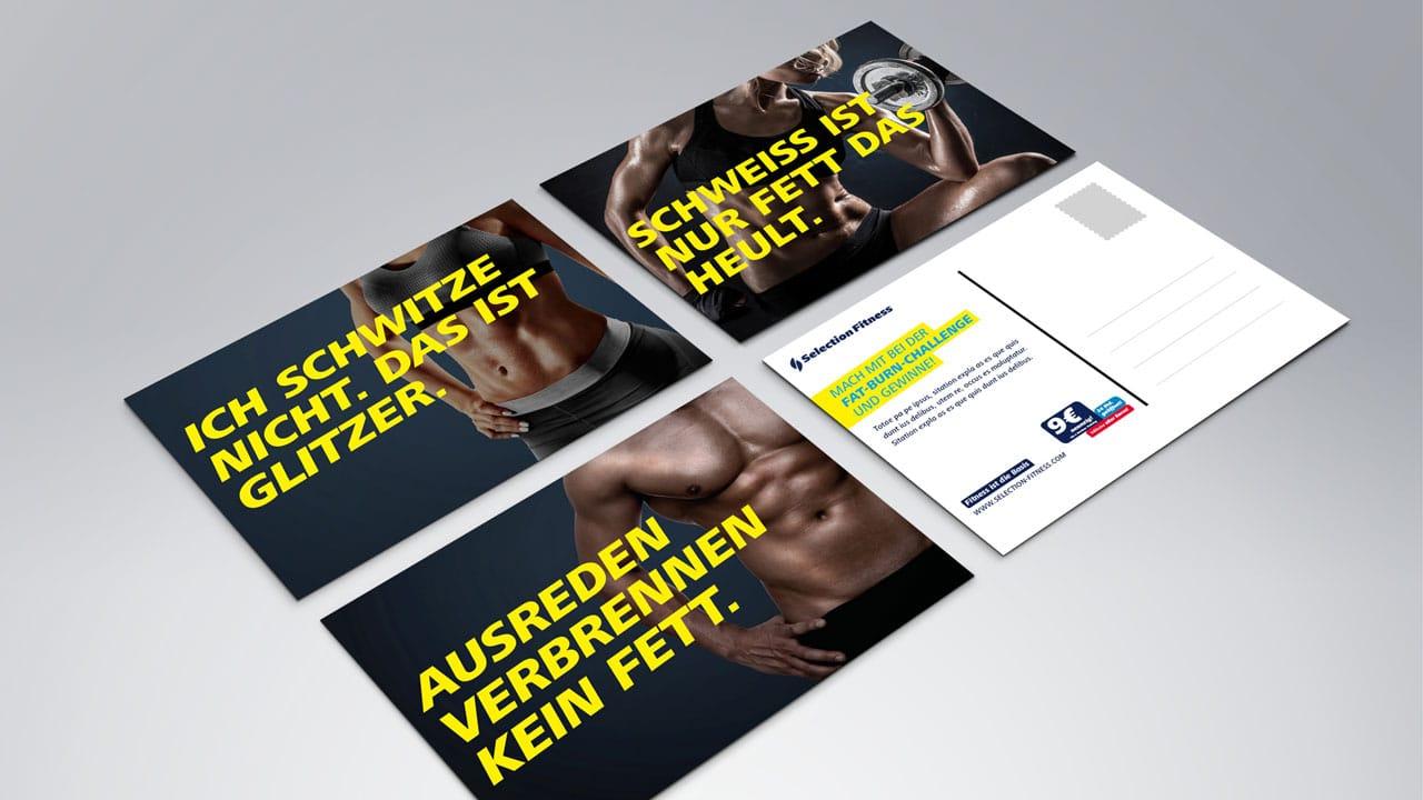 Selection Fitness werbeagentur aus Aachen
